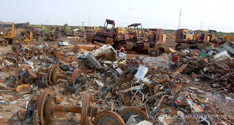 Machinery Scrap of Laxmi Scrap Enterprise
